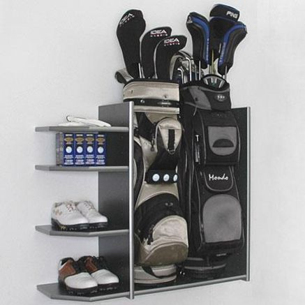 Attractive Pewter Sports Rack Perfect For Organizing Your Playroom, Exercise Room,  Hobby Room, Garage Or Closets!