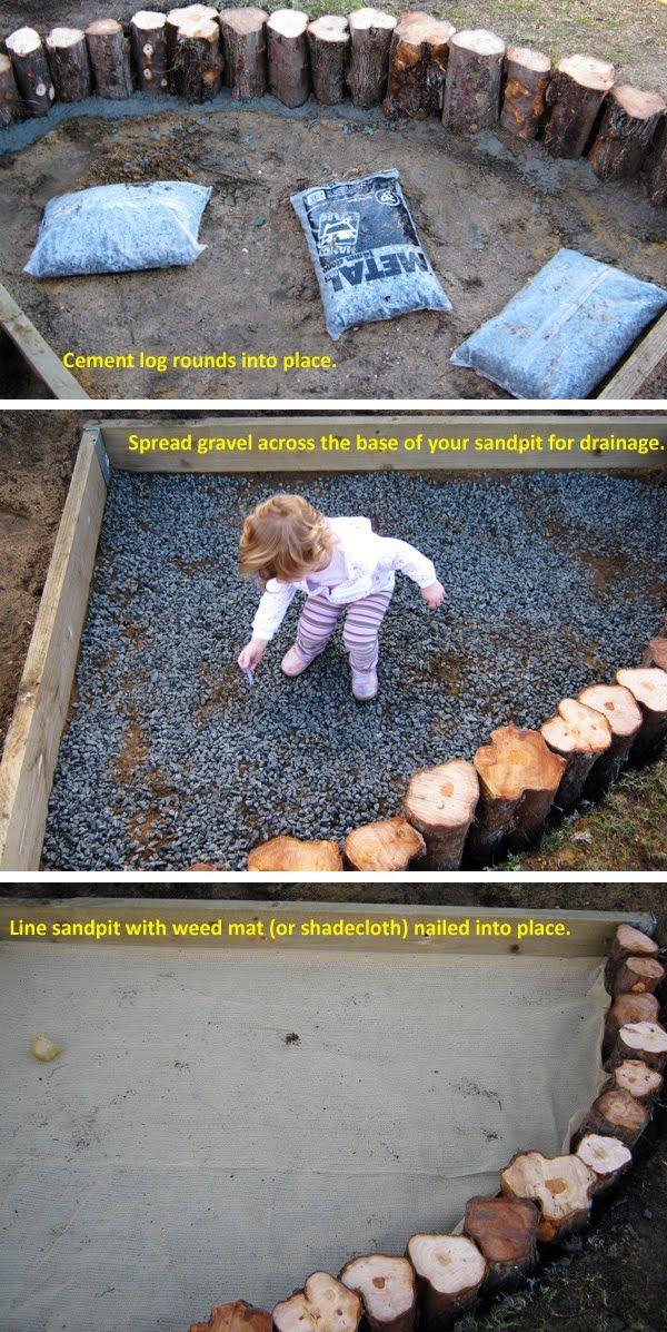 Making our Wooden Sandpit | Childhood101