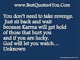 quotes about bad people and karma image search results