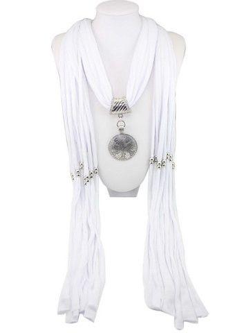 Elegant Round Pendant Scarf – teeteecee - fashion in style