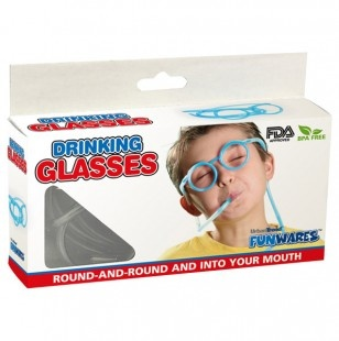 Drinking Glasses Sucking through straws is a great way to help build mouth muscle strength and can consequently help with the production of speech sounds.