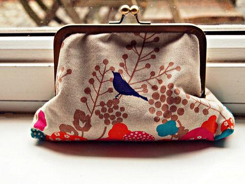 basic framed purse