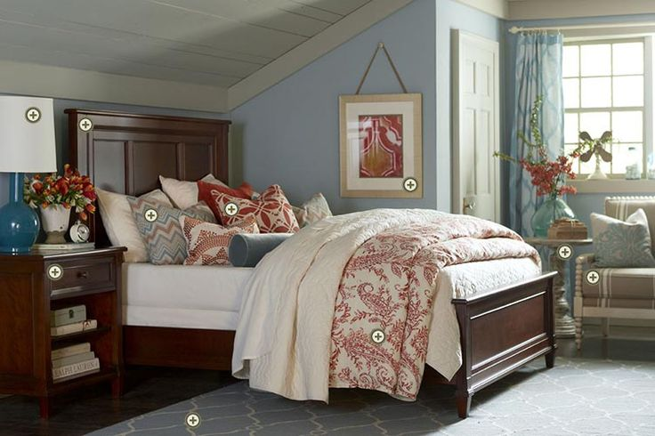 Bedroom Color Ideas With Cherry Furniture