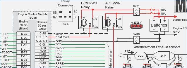 ecm wiring diagram 2003 international 4200  diagram