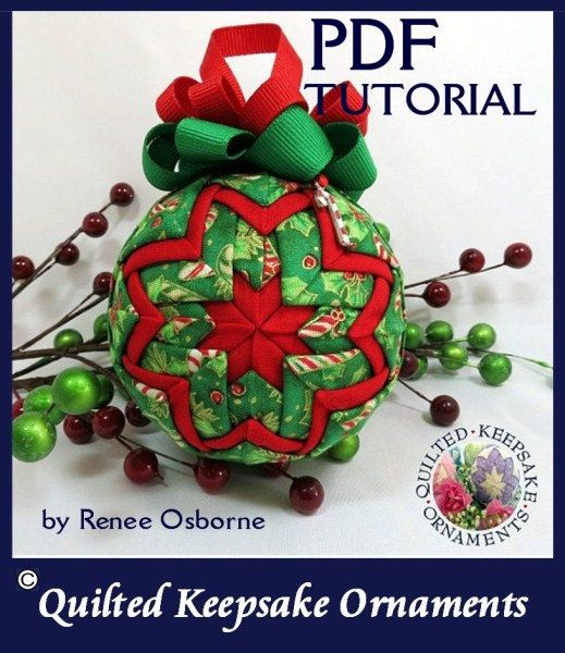 Musical Notes Quilted Keepsake Ornaments by QuiltedKpskOrnaments