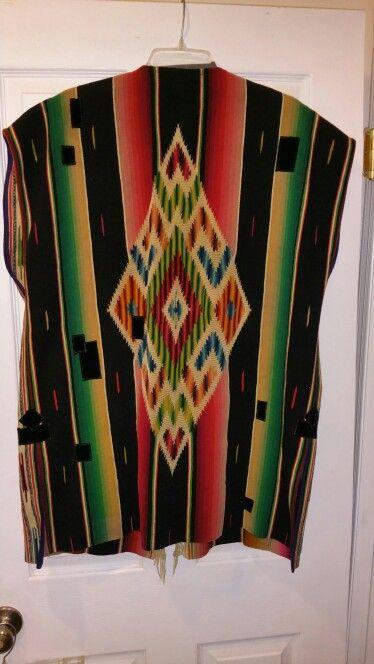 Karen Wilkinson Serape Vest