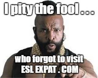 9ac2339e702d8b3b0db2dbe8a53b3e85 i pity the fool funny memes 71 best esl expat funny memes images on pinterest funny memes,Esl Meme