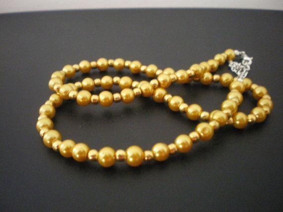 Golden Caviar Necklace