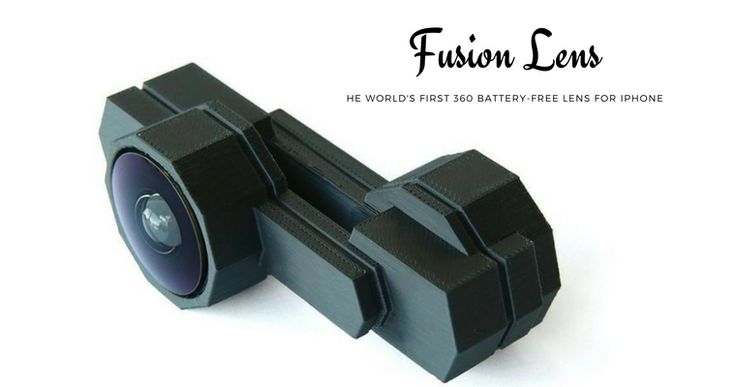 Fusion Lens uses the native camera on your iPhone to open up the field of view to cover 360° so you can capture everything on your camera. Now on Indiegogo.
