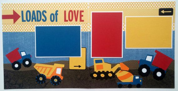 Hey, I found this really awesome Etsy listing at https://www.etsy.com/listing/177916739/boys-scrapbook-layout-valentines-day