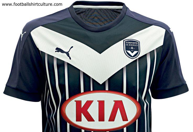 Girondins de Bordeaux 15/16 Puma Home Football Shirt
