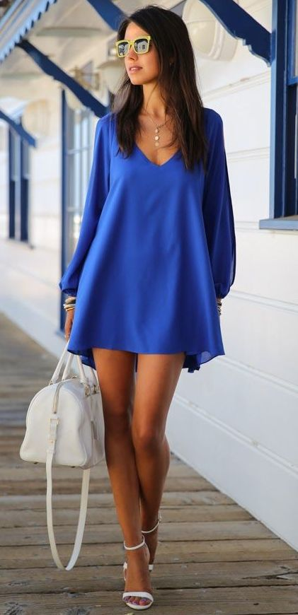 The 22 best images about How to wear electric blue on Pinterest ...