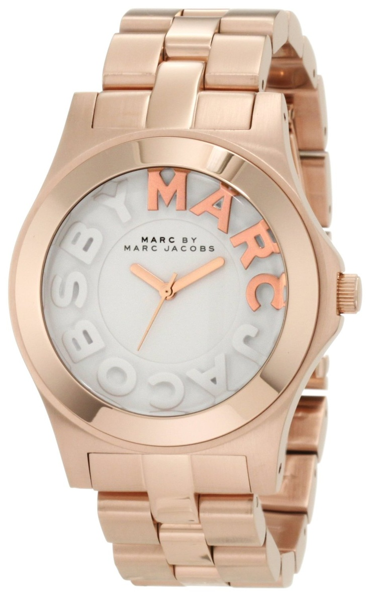 Marc Jacobs Rivera Rose Gold Dial Women's Watch