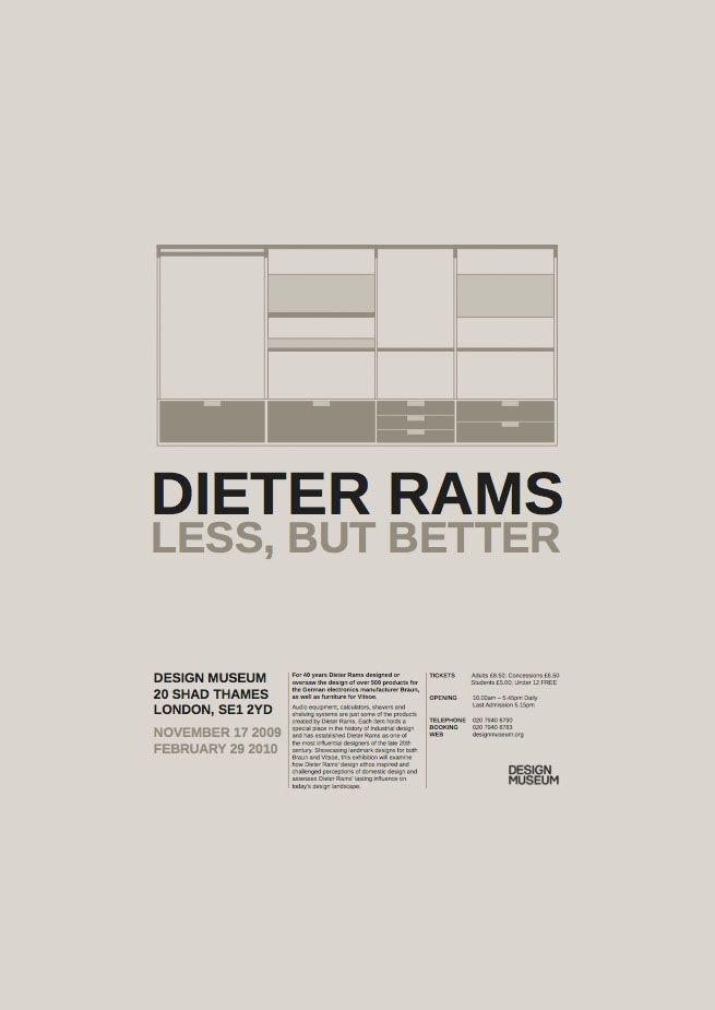 Dieter Rams - Callum Hepburn : Graphic Designer