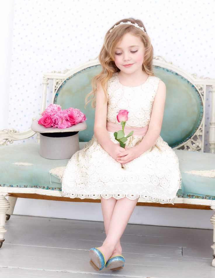 GORGEOUS EMBROIDERED HAND-FINISHED BOHEMIAN DRESS WITH PINK WAIST TIE. $35 http://www.kidsclothingrack.com.au/#!product/prd1/2769428781/embroidered-bohemian-dress-with-pink-bow