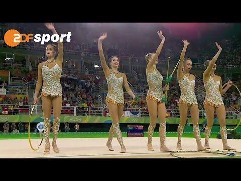 Russlands Sieger-Kür zur Goldmedaille | Rhythmische Sportgymnastik | ZDF – Olympia Rio2016 - YouTube 👏🏻👏🏻👏🏻