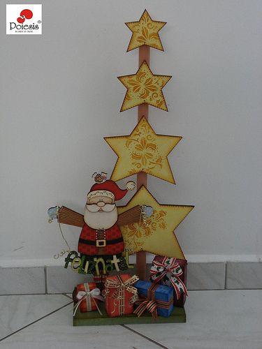 Feliz Natal | Peça pintada pela prof. Helena!!! Muito lindin… | Flickr
