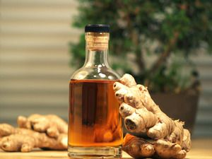 """DIY Ginger Liqueur made with brandy in under 30 minutes