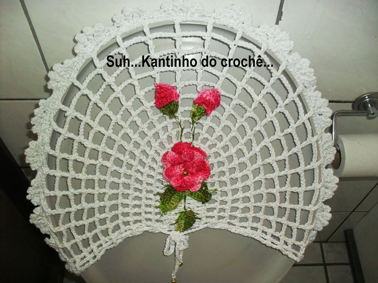 1000 Images About Crochet Toilet Tank Covers On Pinterest
