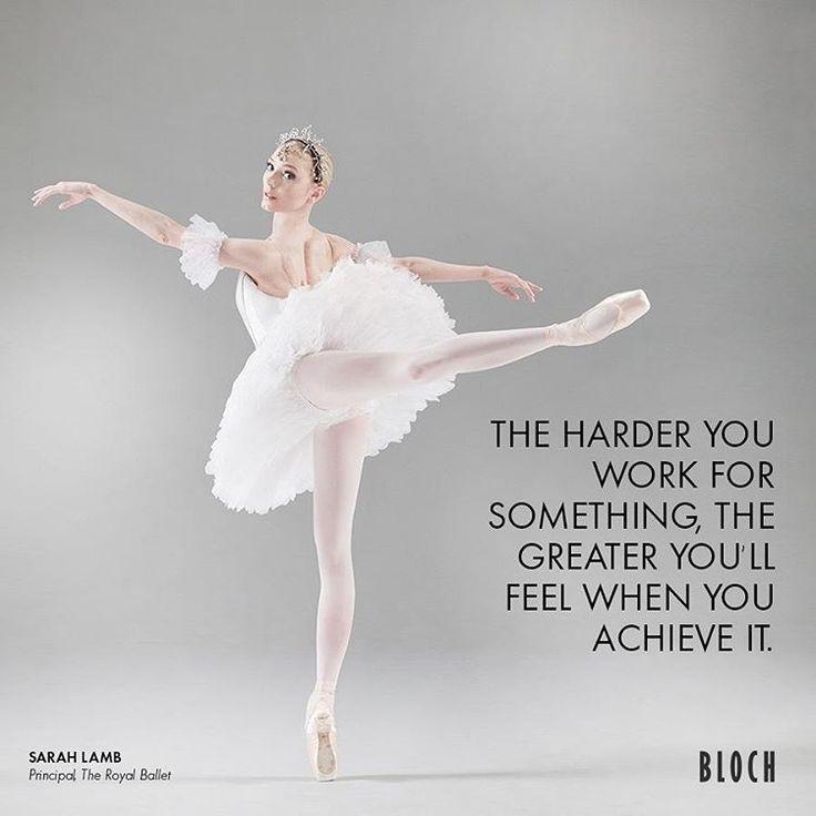 3,428 個讚,18 則留言 - Instagram 上的 BLOCH(@blochdanceusa):「 Morning #Motivation: The harder you work for something, the greater you'll feel when you achieve… 」