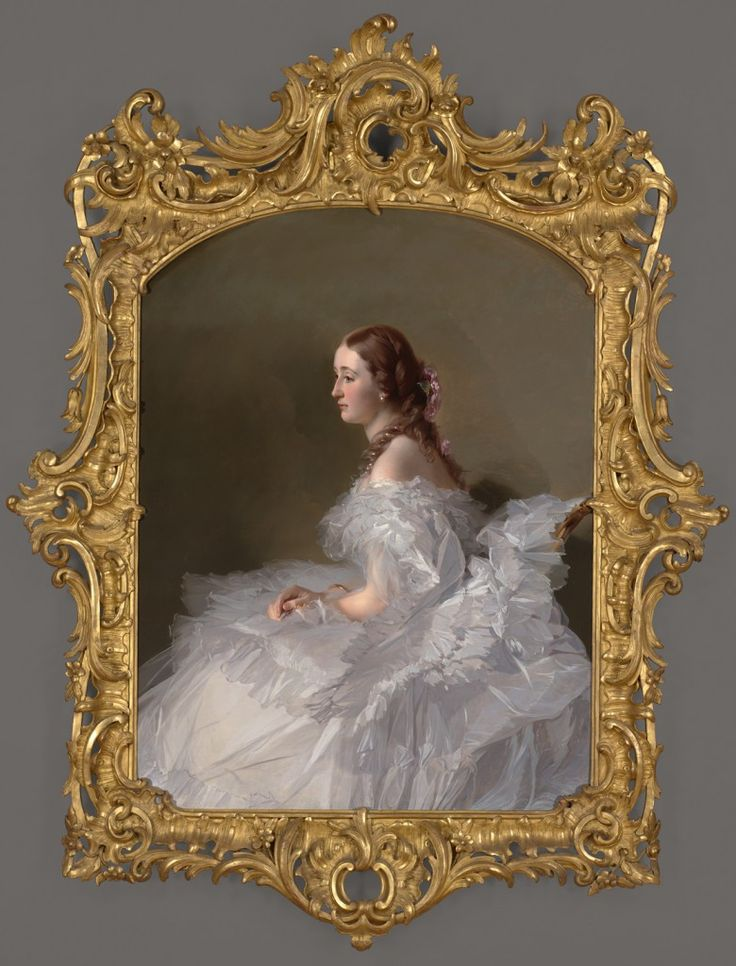 Portrait Of A Pretty 15 Year Old Girl With Her Arms Raised: VMFA Portrait Of Lydia Schabelsky, Baroness Staël-Holstein