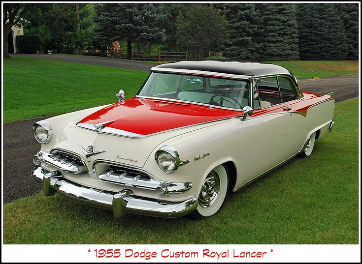 1955 Dodge Custom Royal Lancer.  Never owned one, but sure would like to.  What a beautiful car!