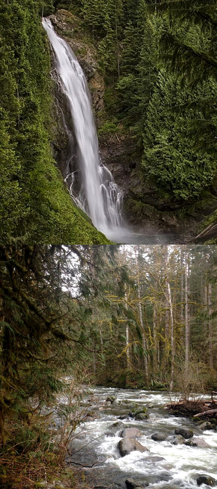 Day trip to Wallace Falls State Park - hike to the Upper Falls and explore the Pacific Northwest.
