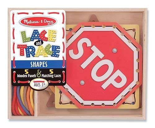 Melissa-&-doug Melissa & Doug Shapes Lace & Trace   Buy Online in South Africa   TAKEALOT.com