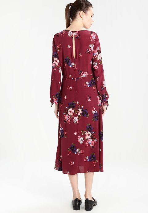 Dorothy Perkins BERRY FLORAL - Sukienka letnia - berry - Zalando.pl