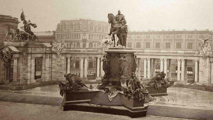 Kaiser-Wilhelm-Denkmal....damals....