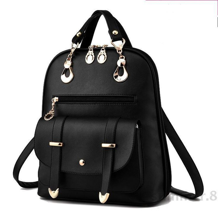 2016 new backpack bag lady female Korean fashion tide wind Institute PU Leather  | Clothing, Shoes & Accessories, Women's Handbags & Bags, Backpacks & Bookbags | eBay!