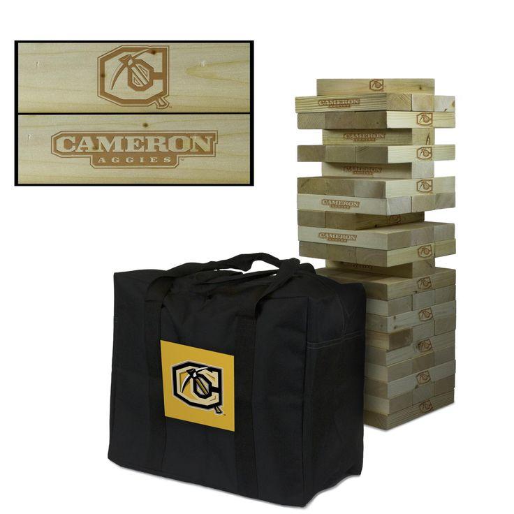 Giant Tumble Tower Game - Cameron University Aggies