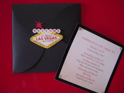 Casino Night invites
