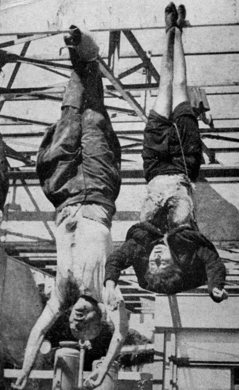 Image result for mussolini death