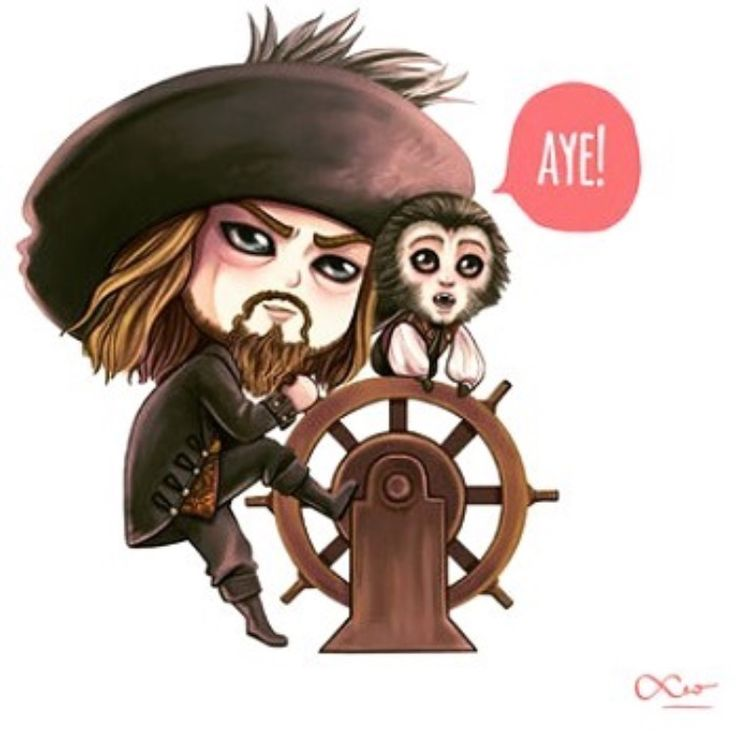 M'boy Barbossa is best pirate and /I love this so much/