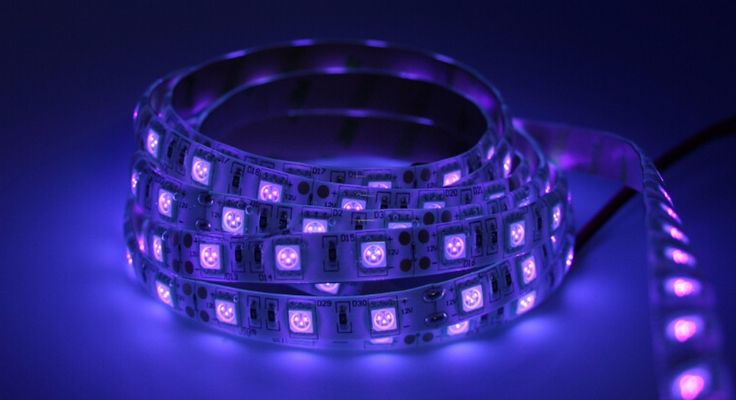 12 V UV Ultravioleta 395 405nm llevó la tira luz negro 5050 3528 SMD 60led/m 120led/m cinta Impermeable lámpara de Fluorescencia DJ party en Tiras LED de Iluminación en AliExpress.com | Alibaba Group