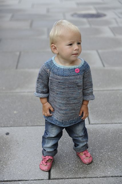 Knitting Pattern For 2 Year Old Jumper : Springtime sweater for a little one. Free Candy Sweater pattern by Eba Design...