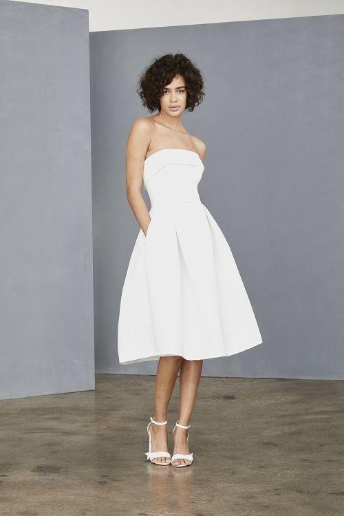 93e046dd43ca LW140 - Little White Dress - Amsale - Bridal | Amsale | Wedding ...