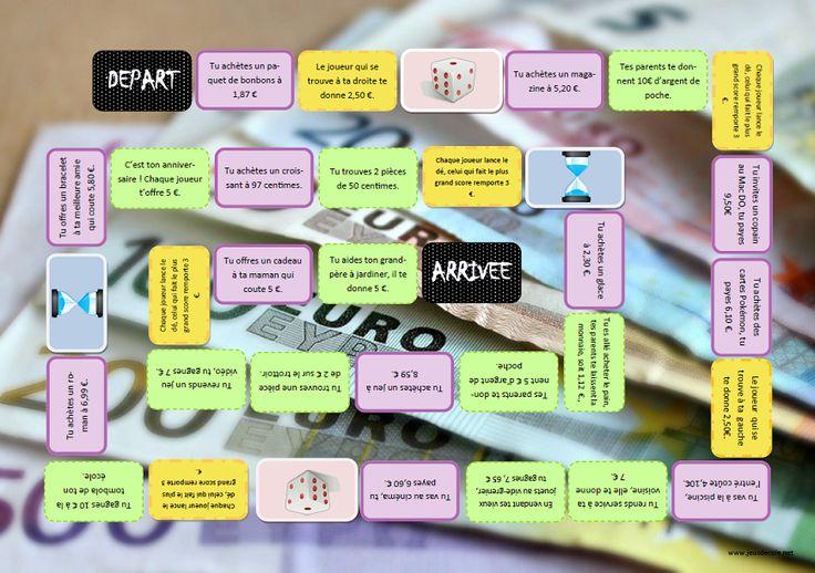 Par ici la monnaie ! jeu de maths sur les euros.