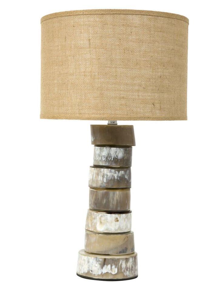 REYES HORN TABLE LAMP
