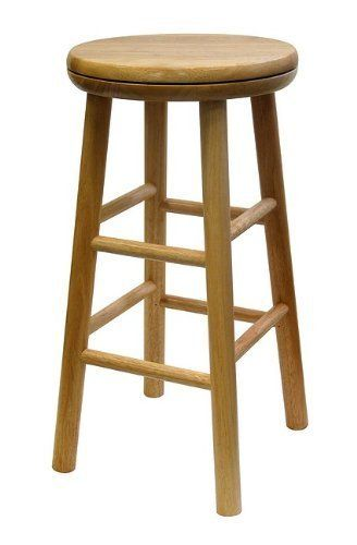1000 Images About Wood Swivel Bar Stools On Pinterest