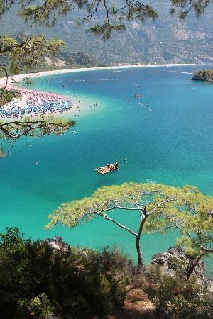 "Olu Deniz - ""The Blue Lagoon"", Turkey"