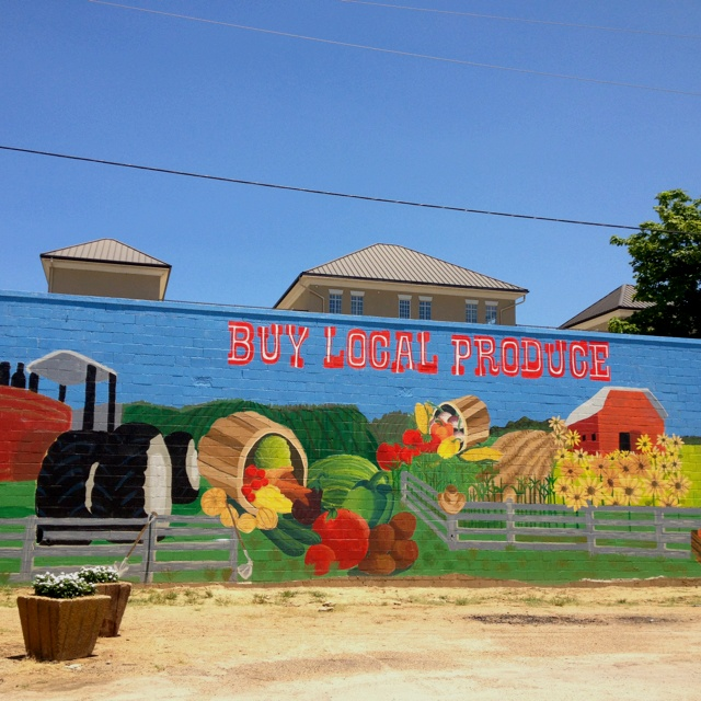 51 best community mural urban garden images on pinterest for Community mural