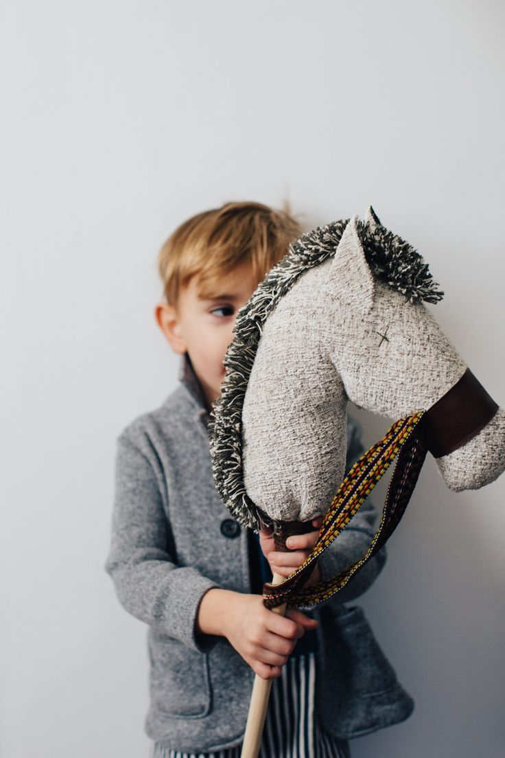 the DS Winter Stick Horse