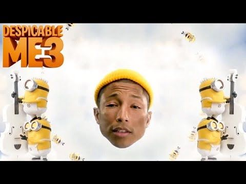 Despicable Me 3 'Pharrell Song' Trailer (2017) Theme Song Animated Movie HD