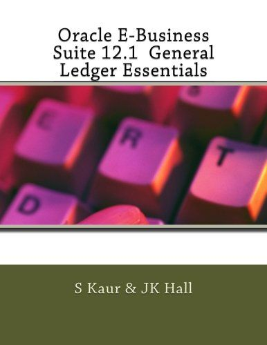 Oracle E-Business Suite 12.1  General Ledger Essentials:   The Oracle E-Business Suite 12.1 General Ledger Essentials exam is designed for individuals who possess a strong foundation and expertise in selling or implementing Oracle E-Business Suite General Ledger Financial Management solutions. brThis certification exam covers topics such as:  how to access and navigate the R12 E-Business Suite, how to enter data, retrieve information in the form of a query and access online help. brCan...