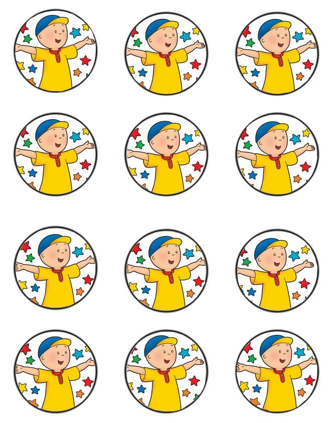 http://daisycelebrates.blogspot.com/2015/09/caillou-birthday-party-inspiration-board.html