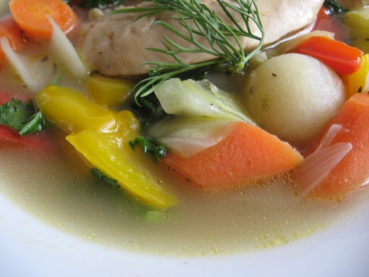 one pot chicken with dill and vegetables