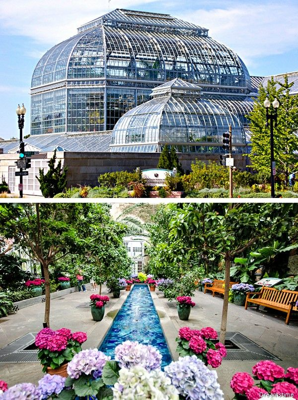 United States Botanic Garden Places To Visit On The National Mall Pinterest Gardens Parks