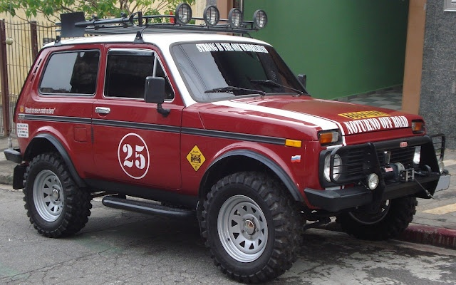 I had a Lada Niva in my younger days..